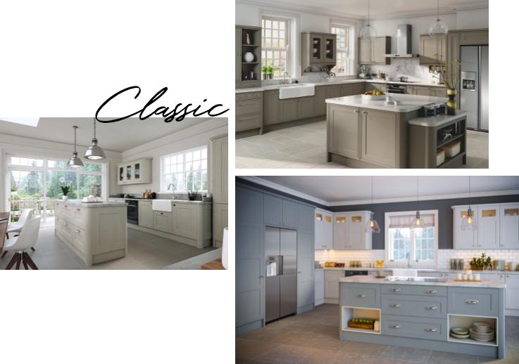 Classic Granite kitchen worktops