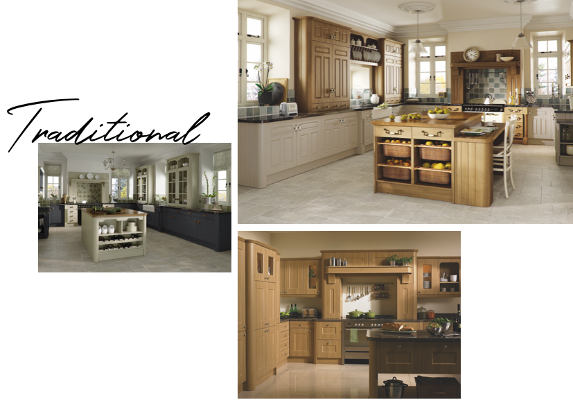traditional Granite kitchen worktops