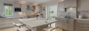 Granite kitchen worktops and splashbacks