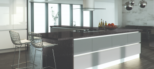 Modern Black star worktop