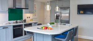 classic white kitchen granite worktops