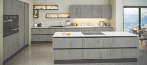 Classic blue kitchen granite worktops