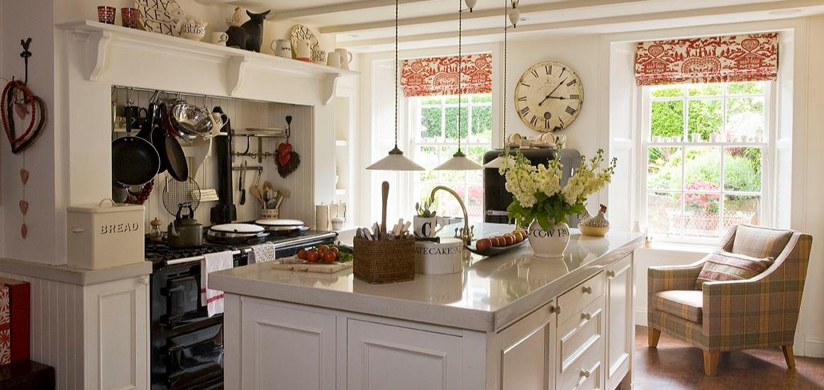 country kitchen worktops