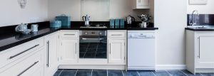 Granite neutral kitchen worktops