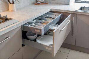 Kitchen Drawers with Storage